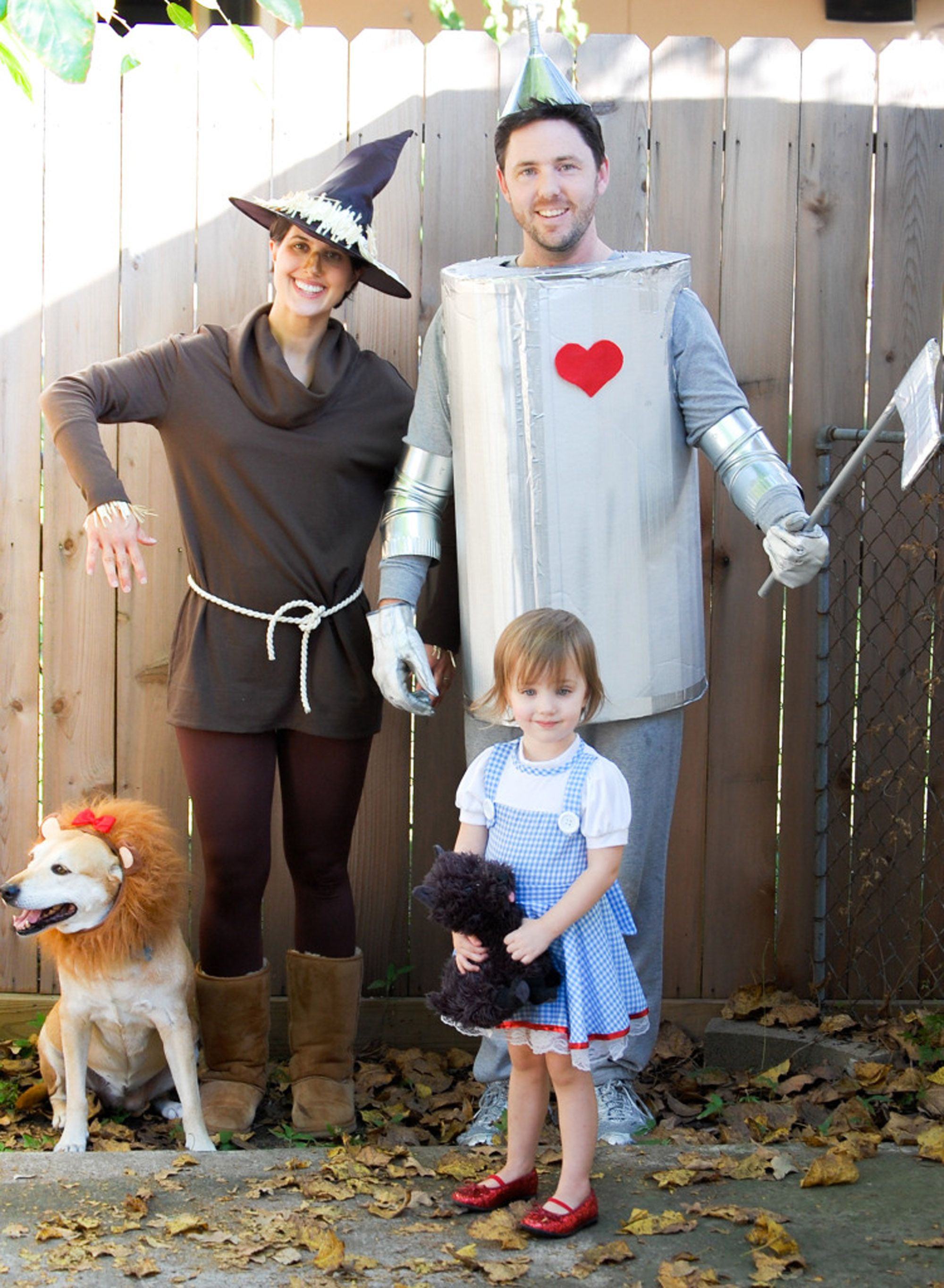 27 DIY Wizard of Oz Halloween Costumes for Dorothy, Scarecrow and the Whole Group