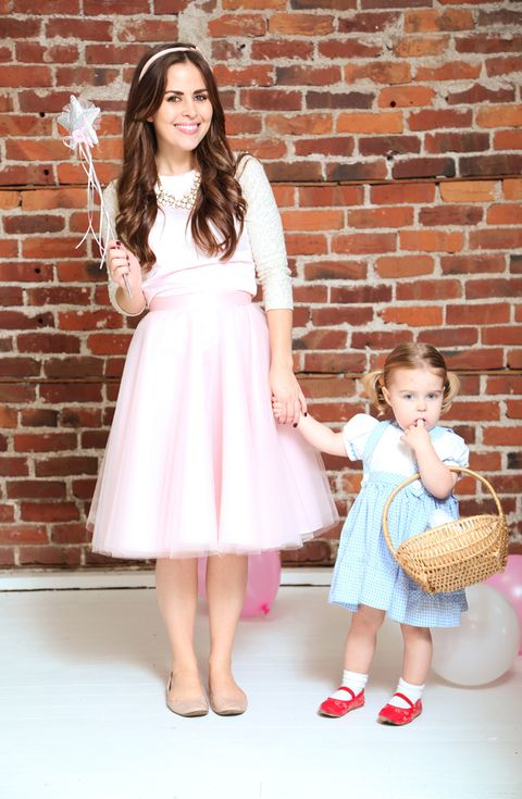 wizard of oz mother daughter halloween costume