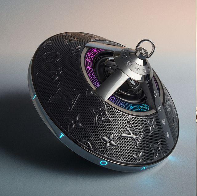 lv horizon light up無線藍牙喇叭太奢華!「飛碟外形+獨家lv燈光秀」五大重點打造最頂級的藍牙喇叭