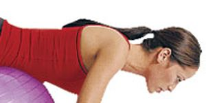 Exercise Ball Workout to Get Abs