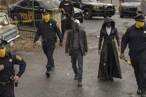 tim black nelson, regina king, watchmen