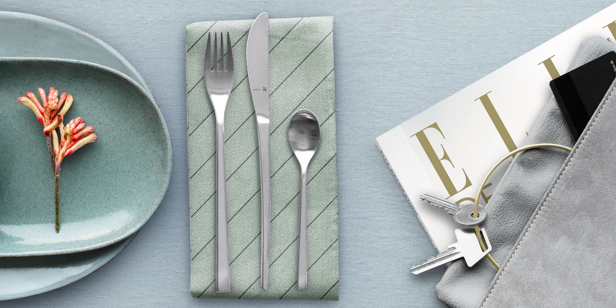Mise En Place Design wmf collection of cutlery in collaboration with elle decoration
