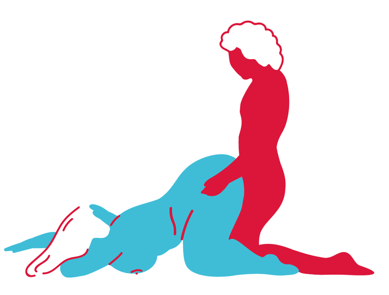 Girl and boy humping nakedly