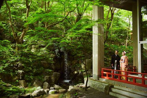 ウェスティン都ホテル京都の庭