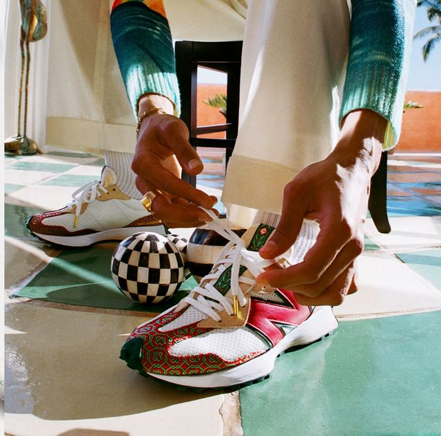 new balance x casablanca聯名球鞋327、237「球鞋細節+開賣時間」一次掌握