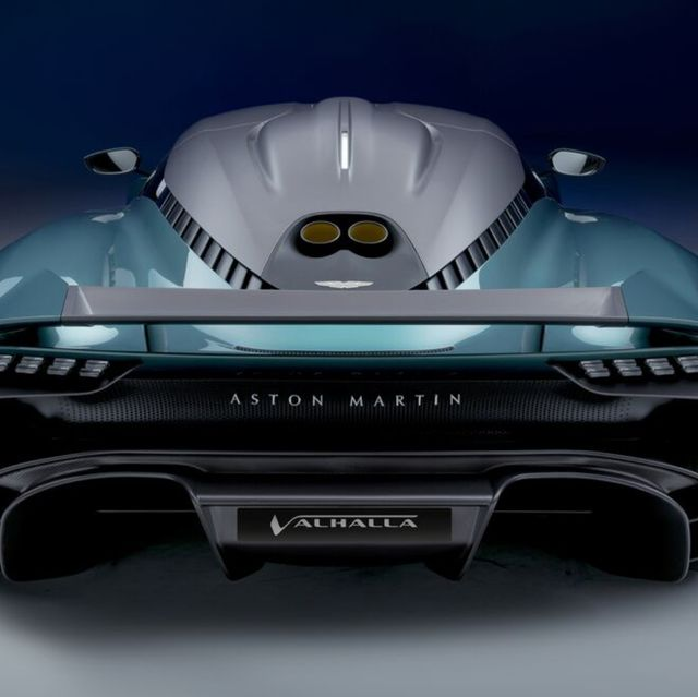 aston martin新世代混合動力超跑!valhalla承襲女武神設計概念、車室還原f1駕駛座艙