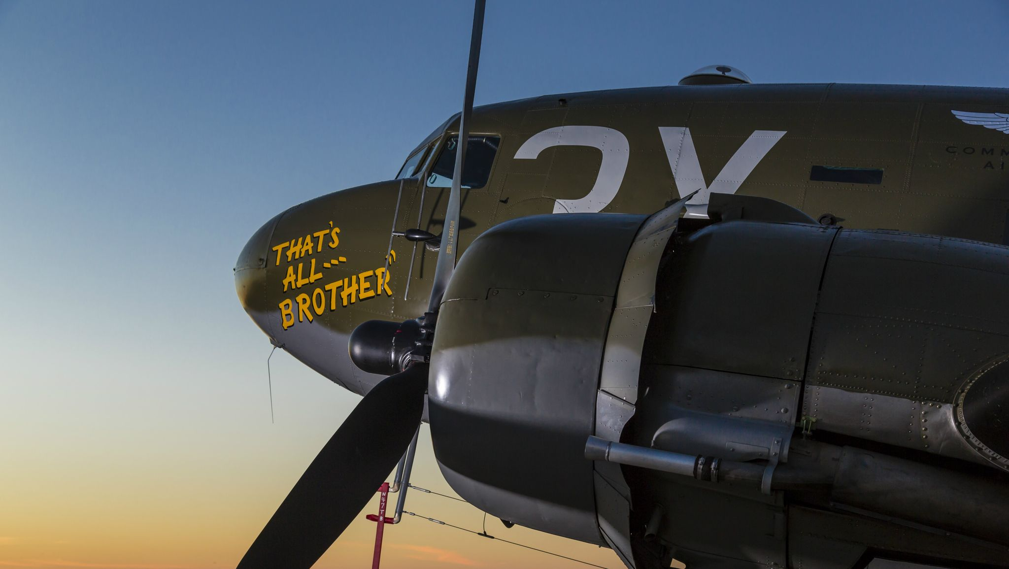 The Return of 'That's All, Brother': The Plane That Lead the D-Day Invasion