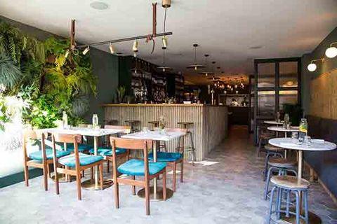 Restaurant, Building, Property, Room, Cafeteria, Café, Table, Interior design, Furniture, Kitchen & dining room table,