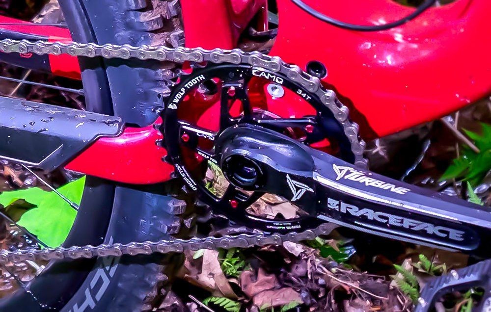 Wolf Tooth CAMO Cannondale Spider Red -4mm Offset