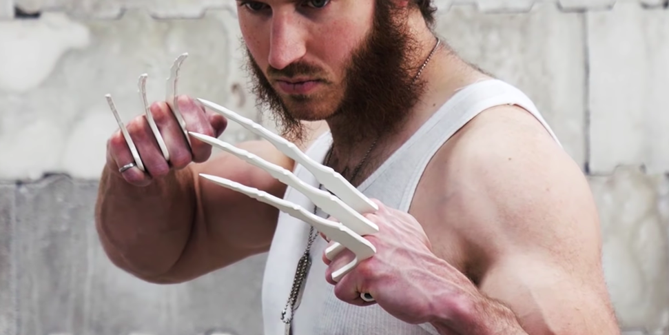This Guy Made A Real Working Replica Of Wolverine S Bone Claws