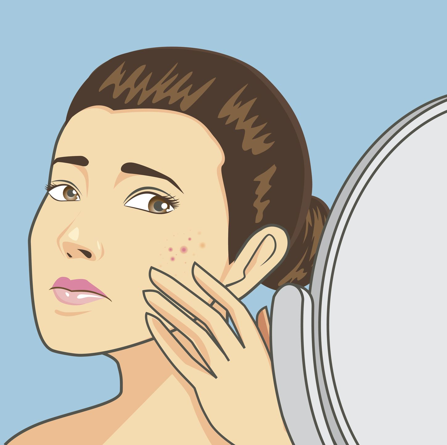 how to get scars off your face from acne