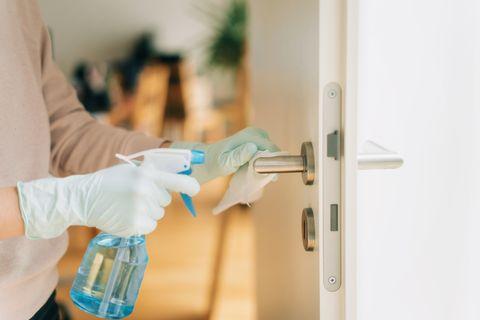 清潔門把居家大掃除精油用法