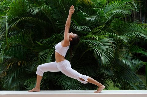 yoga poses to get your gut moving - women's health uk