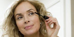 Woman doing make up