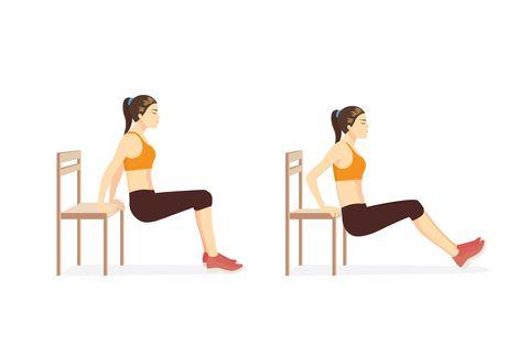 7組「瘦手臂」肌肉訓練!每天10分鐘,一周有感燃燒手臂贅肉,消除蝴蝶袖