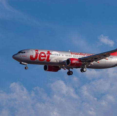 Drunk woman open door plane Jet2 Chloe Haines jail arrested fined
