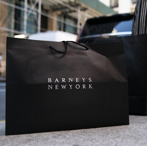 Barneys shopping bag