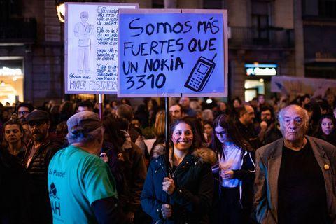 women's day in barcelona
