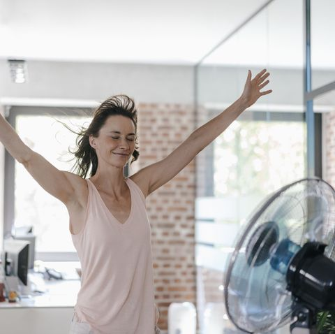 how to keep cool while working from home in summer