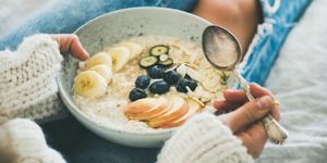 what are the healthiest toppings for porridge?