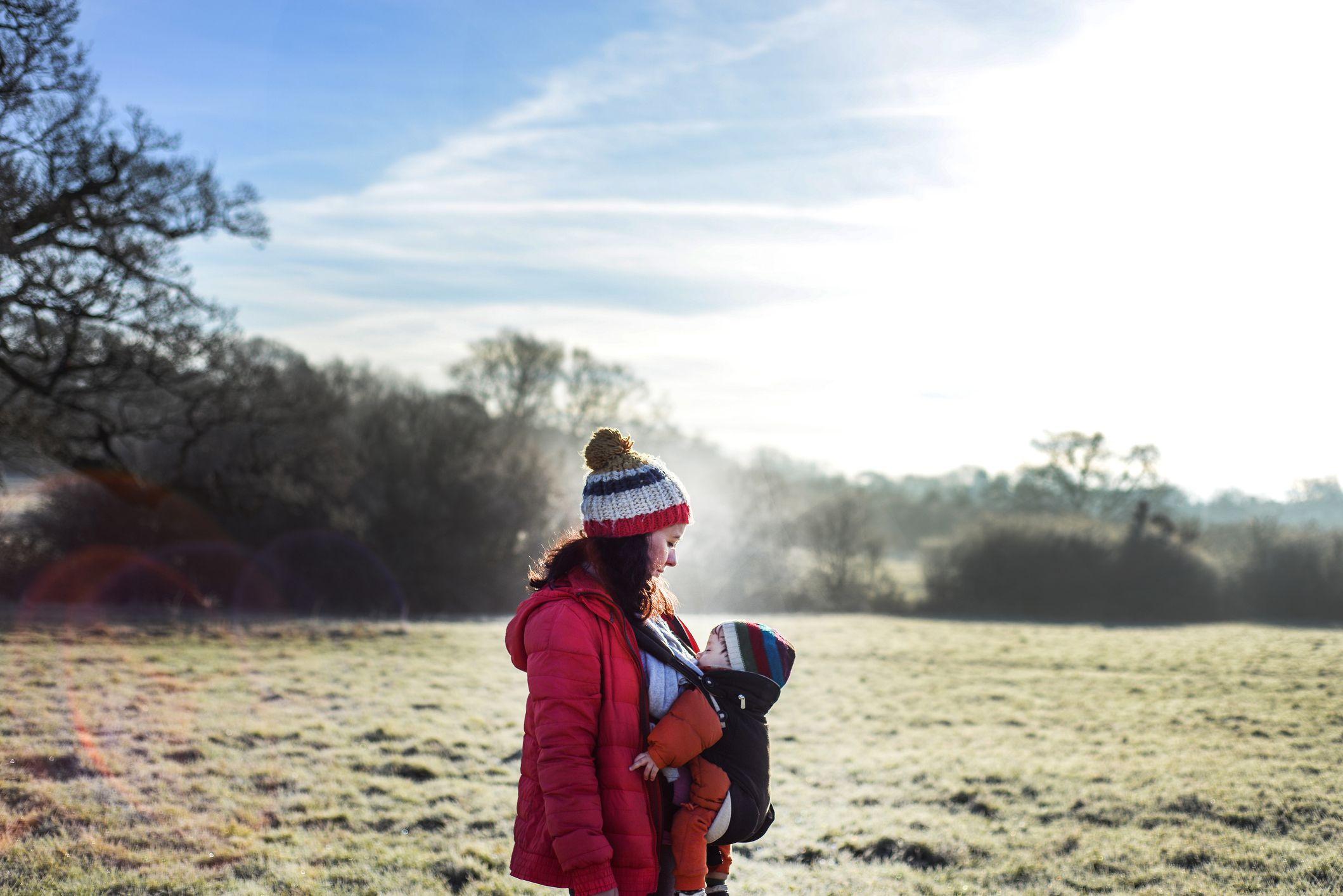 vestir al bebé en invierno
