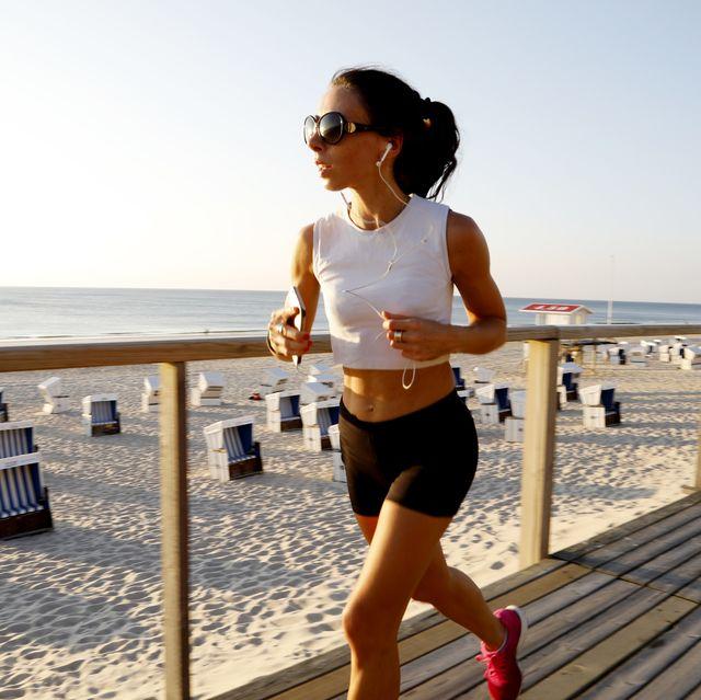mujer running
