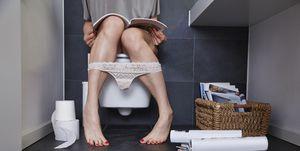 vrouw wc