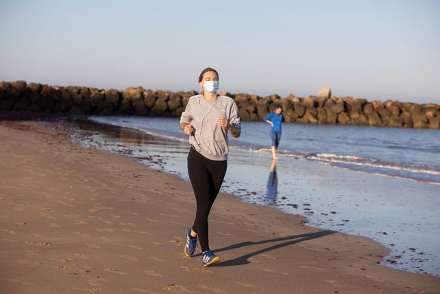 high temperatures as spain allows walking and outdoor exercise