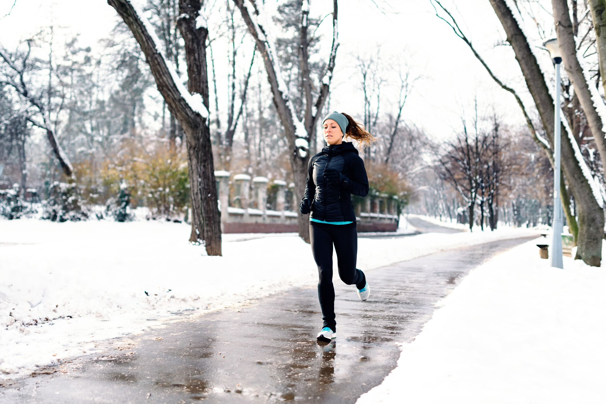 How to Handle Running on Snow and Ice