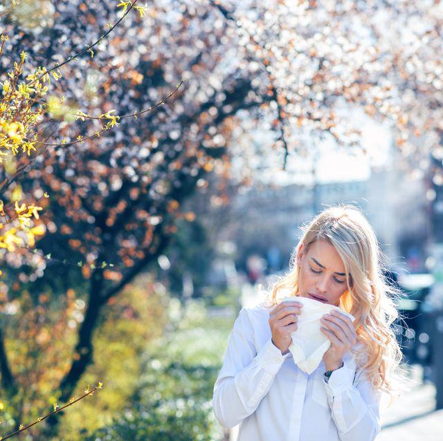 アレルギー 春 症状