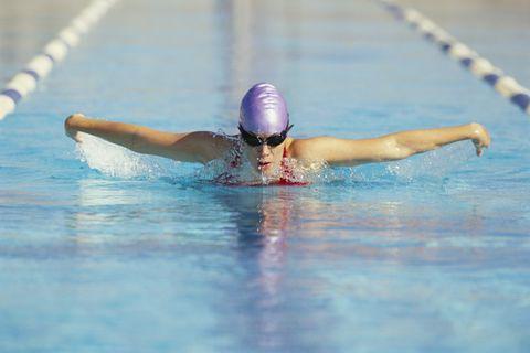 水泳 スイミング 効果 メリット ダイエット カロリー 燃焼 有酸素運動