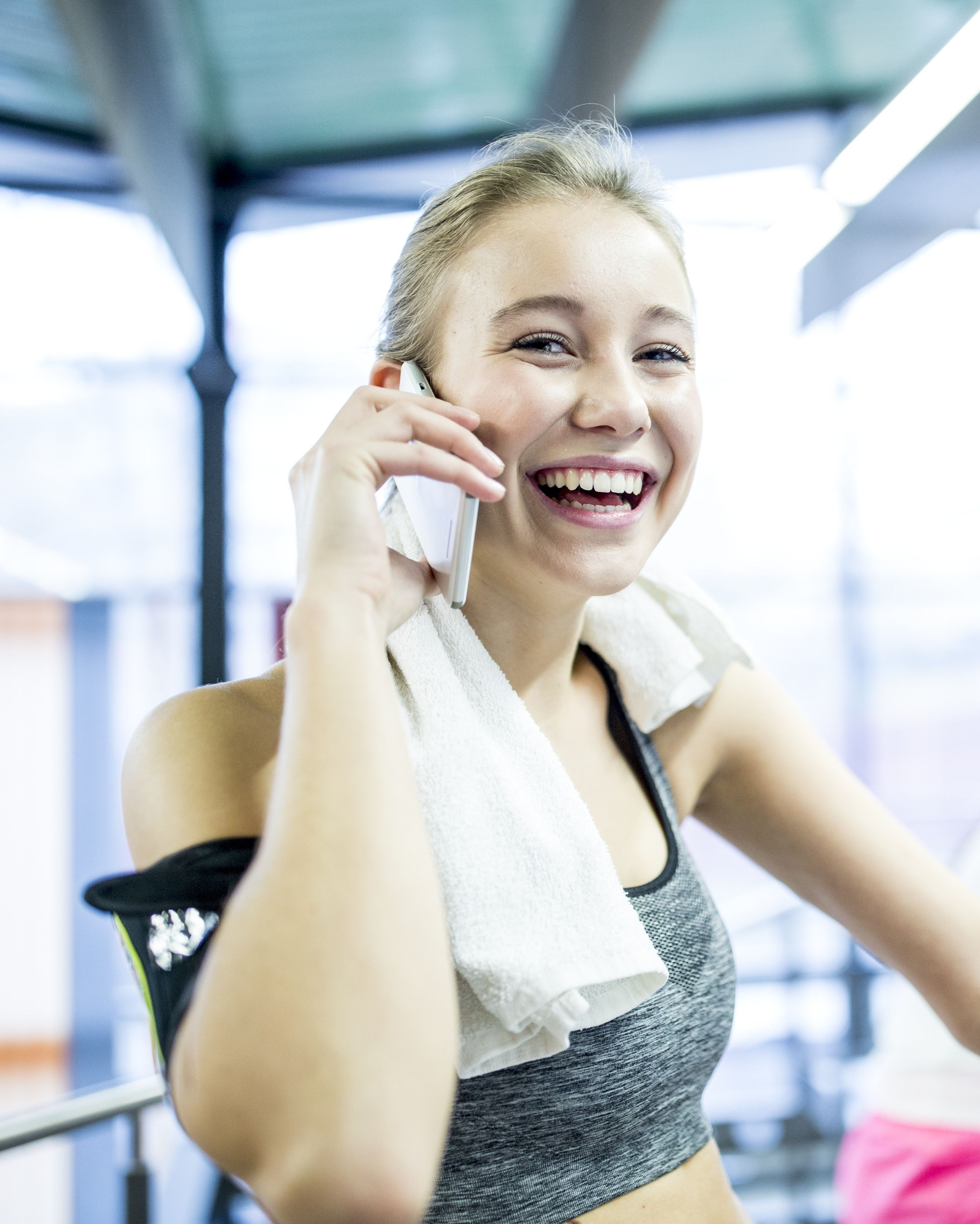 Don't make phone calls. Not only does chatting on the phone during your workout distract you from what you're doing, but it's also totally annoying.