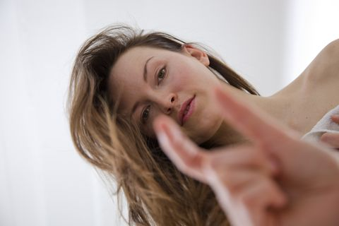 Woman Teasing Man with Small Penis