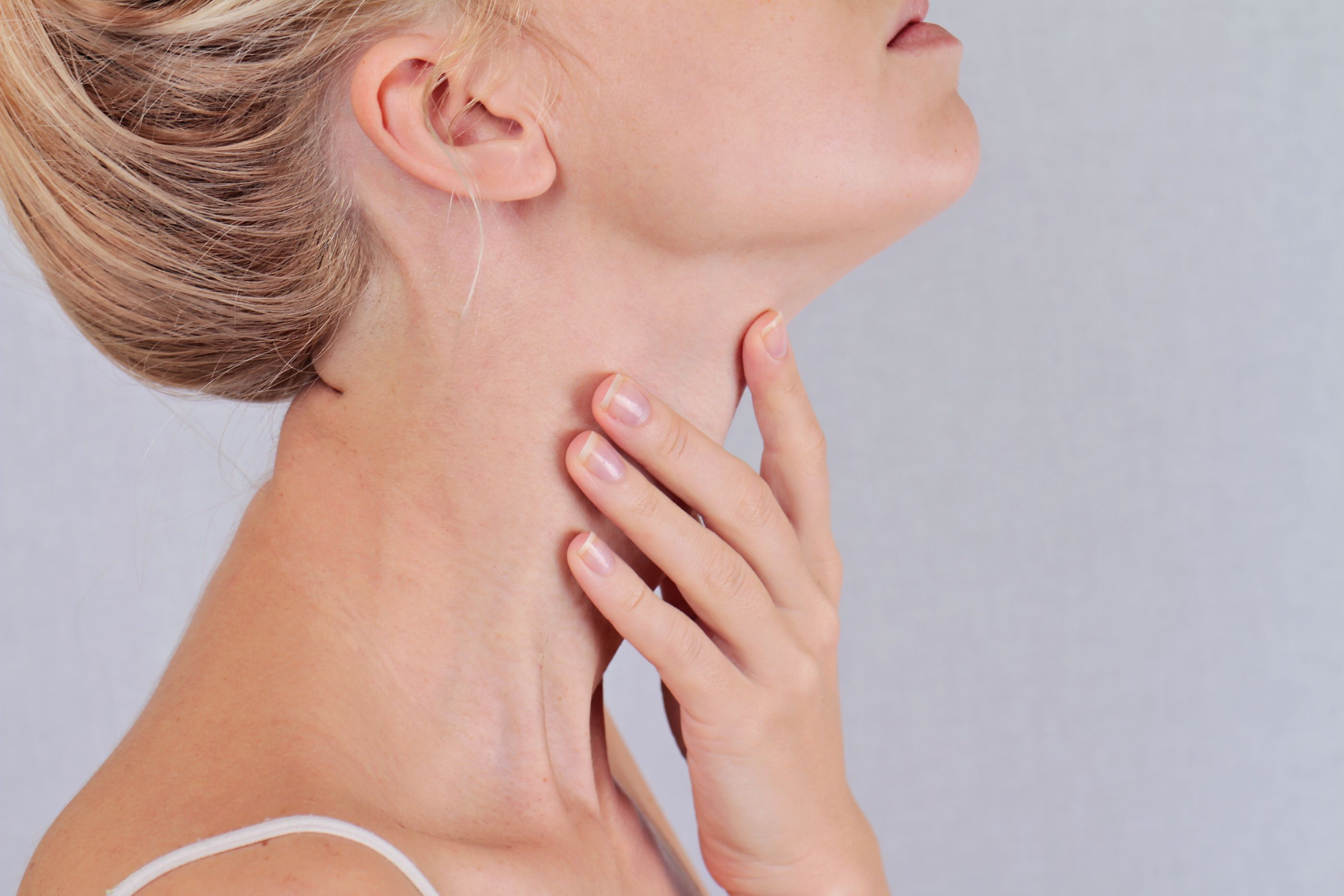 What a Lump on Your Neck Means - What Your Neck Can Say