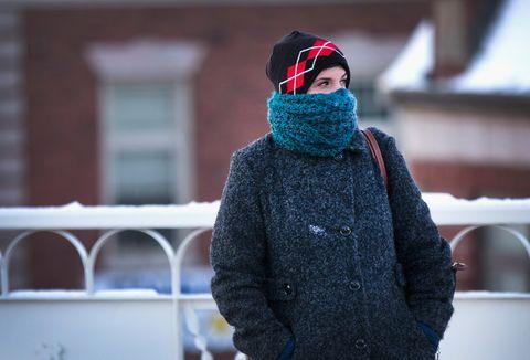 Temperatures Drop Near Zero Degrees In Chicago