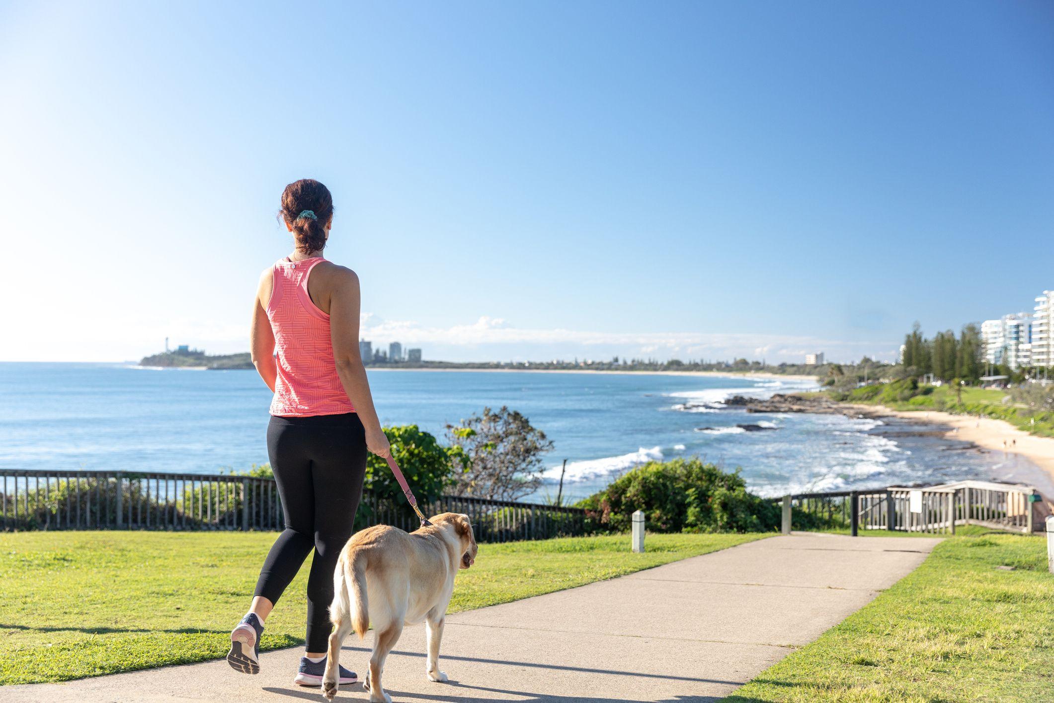 Caminar y respirar para adelgazar