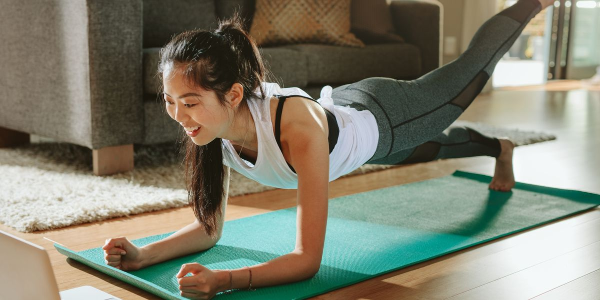 A 28-day full body home workout plan you can do in your living room