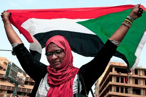 SUDAN-POLITICS-RALLY
