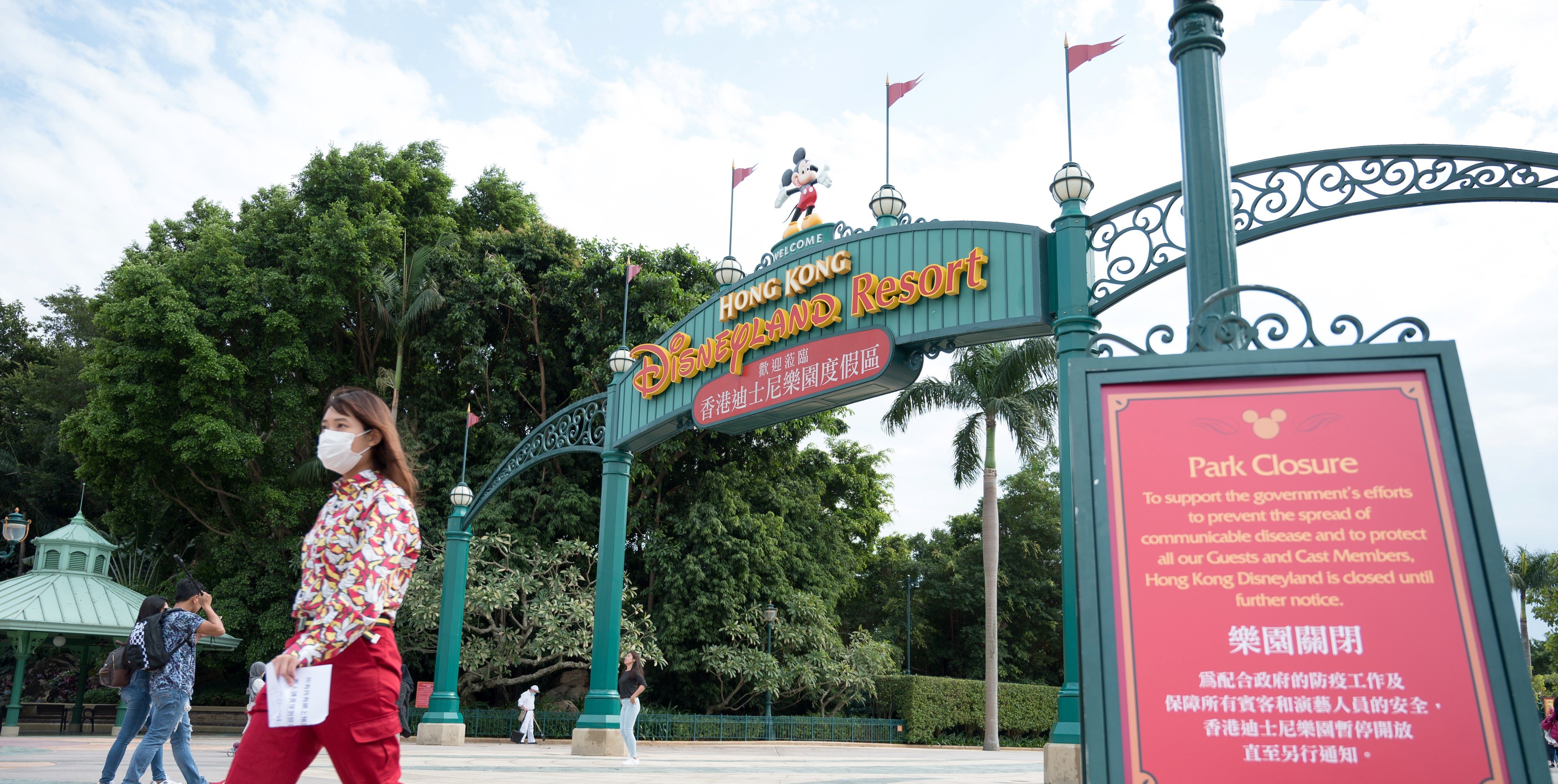 Some Disney Parks Have Closed Because Of The Coronavirus