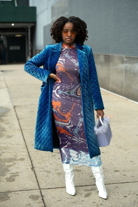 street style  february 2021 new york fashion weekthe shows