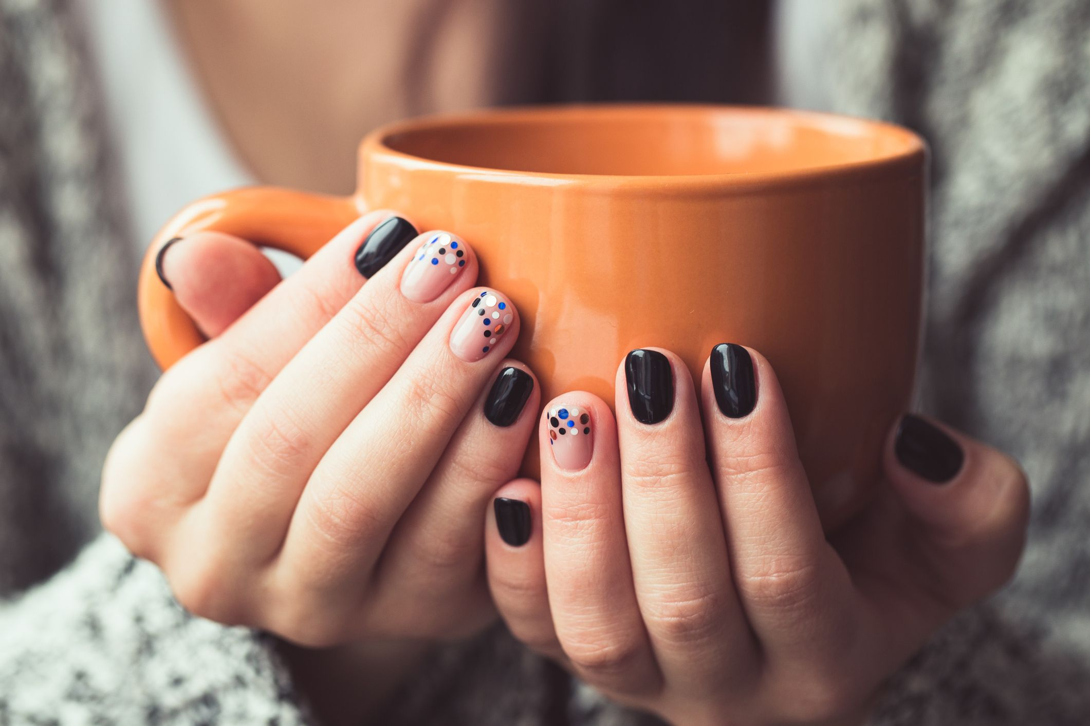 26 Thanksgiving Nail Art Designs , Ideas for November Nails