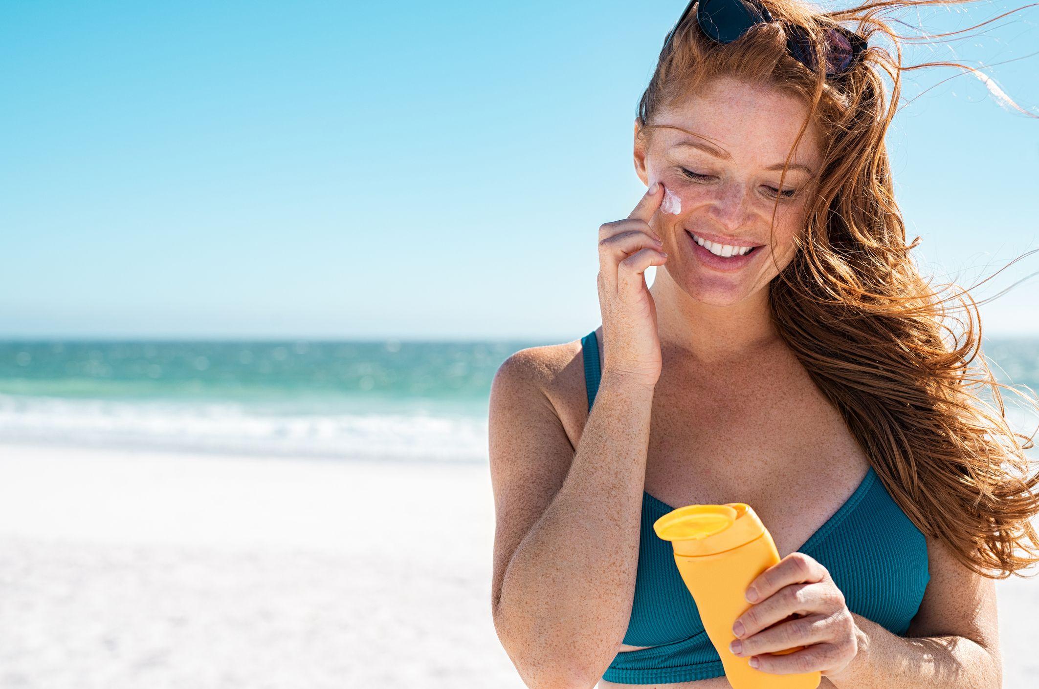 Image result for sunscreen girls