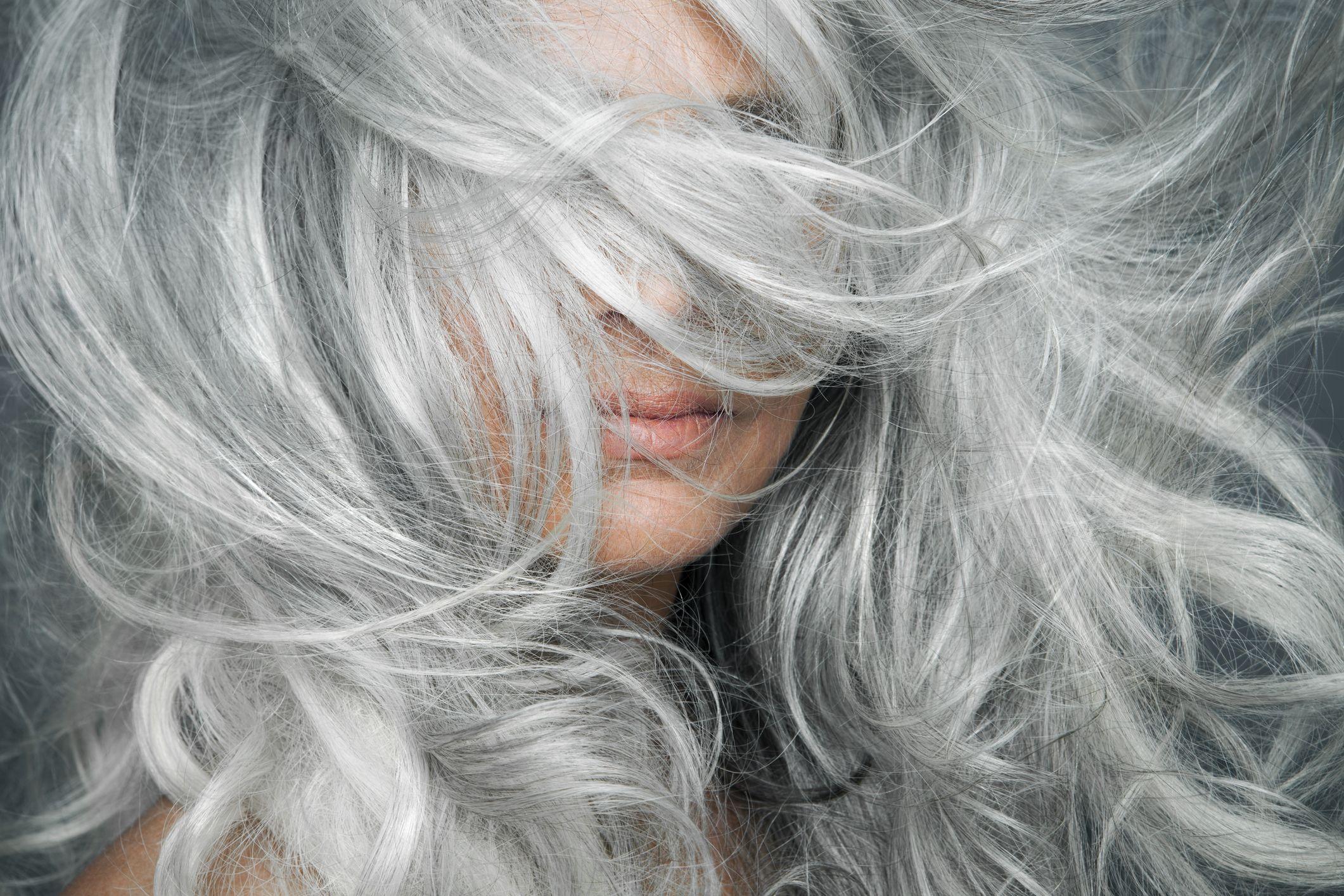 Hair man should his grey a dye Think Twice