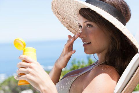 evitar manchas de sol