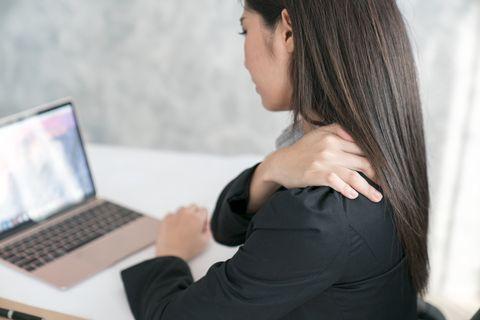 辦公室肩膀疼痛
