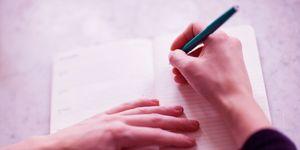 diary, writing, planning,