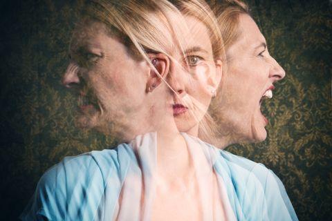 Woman's Emotional Struggle