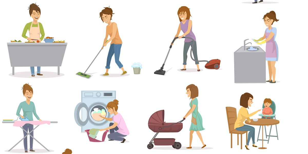 Which household chore burns the most calories?