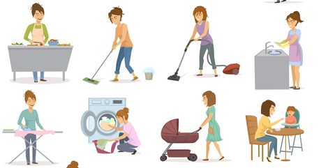 Doing household chores - how to burn calories