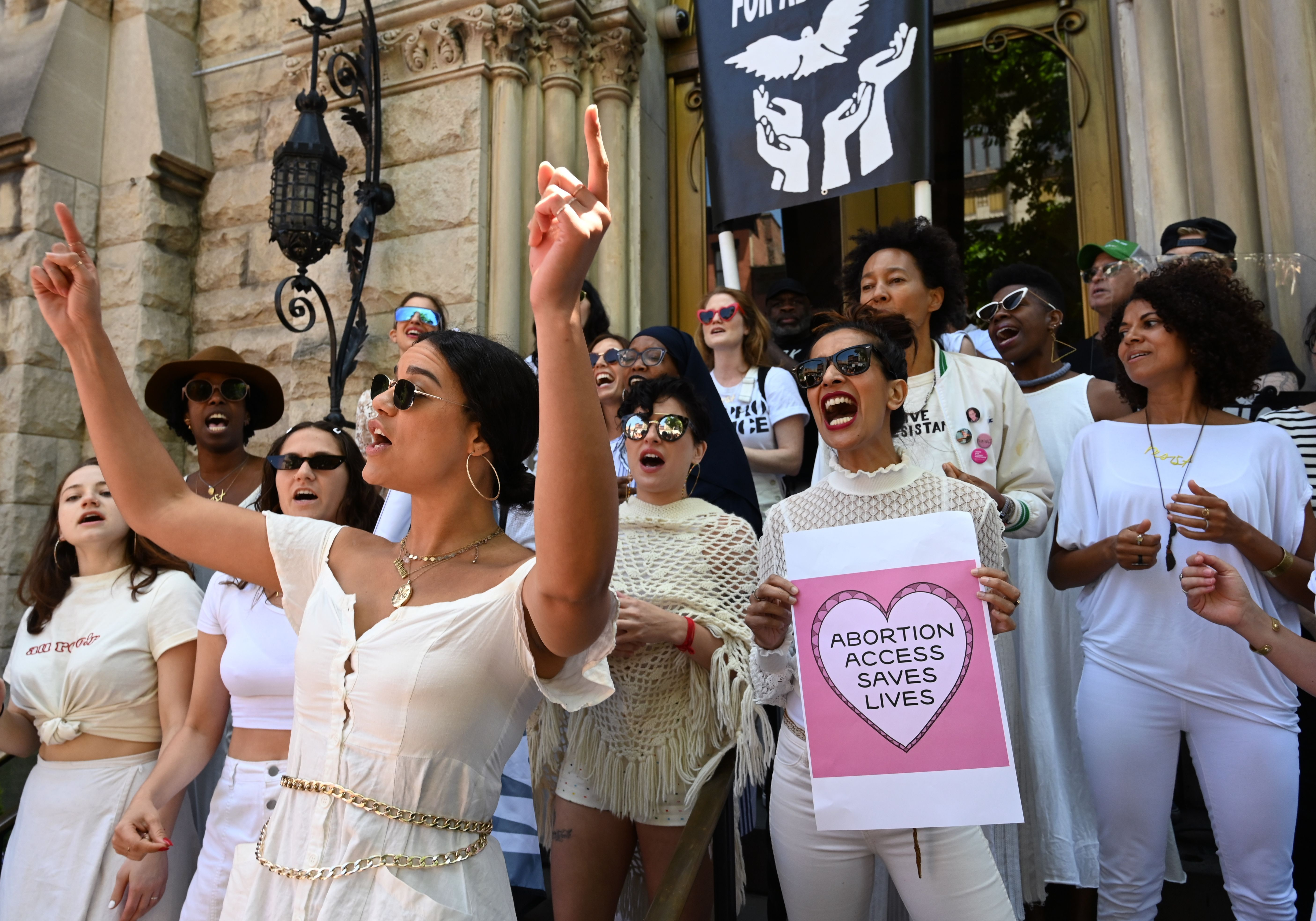 Women Seen at #StoptheBans Protests, Men Are Noticeably Absent